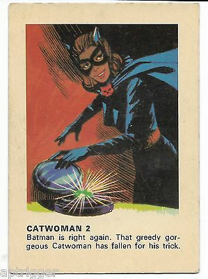 1966 Batman Weeties & Rice Krinkles Catwoman 2 (Very Good)