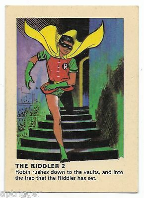 1966 Batman Weeties & Rice Krinkles The Riddler 2 (Excellent)