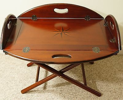 Coffee table , butlers table quality reproduction