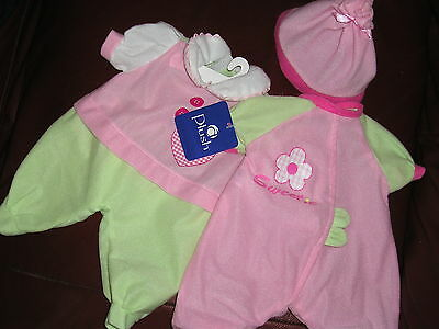 NEW BABY DOLL CLOTHES for 17 inch dolls