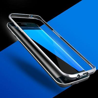 Ultra  Aluminum Metal Bumper Thin Skin Case Cover for Samsung Galaxy S7 Edge UK