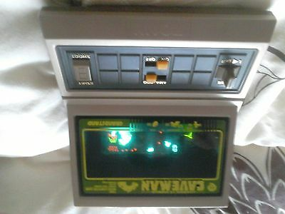 Vintage 1980,s Grandstand Caveman electronic game