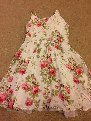 Girls Next Floral Dress Aged 5 Years