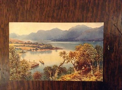 Postcard from BONNIE SCOTLAND series FOYERS PIER by TUCK. Early 1900's Gd. Cond.