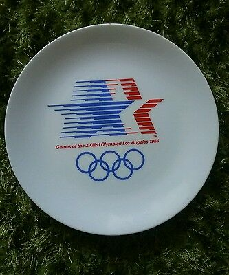 Los Angeles 1984 Olympic Plate