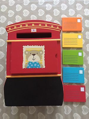 ELC Early Learning Centre Wooden Post Box Postbox kids Toy