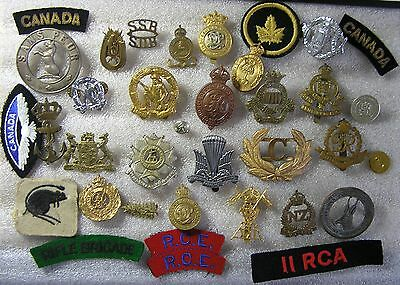 Mixed Lot of Various Military Badges etc. - Genuine & Restrikes