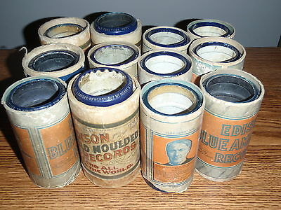 Lot 12 of Edison Blue Amberol Cylinder Records 3917 2315 3884 3422 3786 More