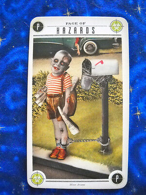 The Zombie Tarot Cards: An Oracle of the Undead w/Deck & Instructions