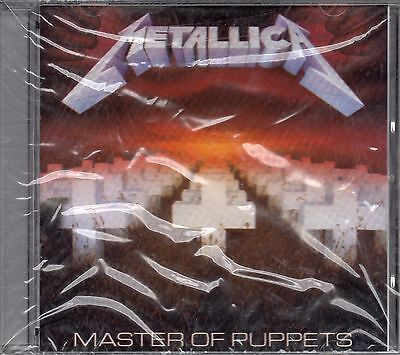 METALLICA - Master of puppets - CD - Philippines - 1989 - 838 141-2 - NEW