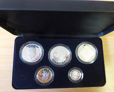 Royal Mint 2008 British Proof Coin Set - The Family Silver Collection . . .