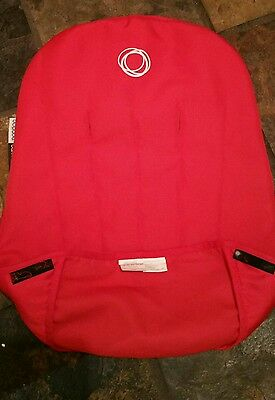 Bugaboo cameleon g 1 and 2 seat cover lining red practically new