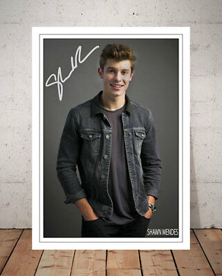 Shawn Mendes Illuminate Autographed Signed Photo Print