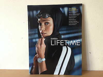 New - Magazine Revista OMEGA LIFETIME Nº 2 2008 - THE OLYMPIC GAMES EDITION