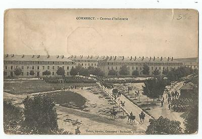55 COMMERCY  CPA  Caserne d'infanterie  1910