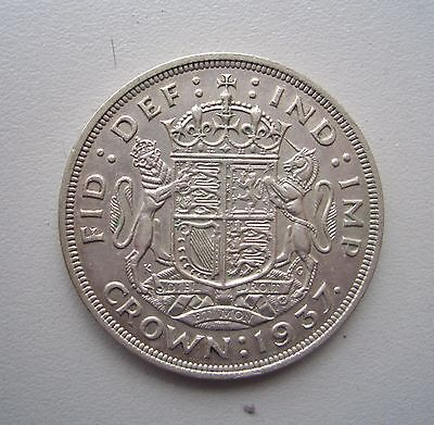 UK , George V1 1937 Crown,Extremely Fine Condition, 38.6 mm Diameter, 28.4 Grams