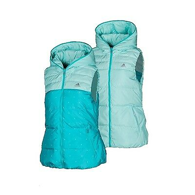 Adidas Climaproof Womens Gilet Body Warmer - Slim Fit - Reversible