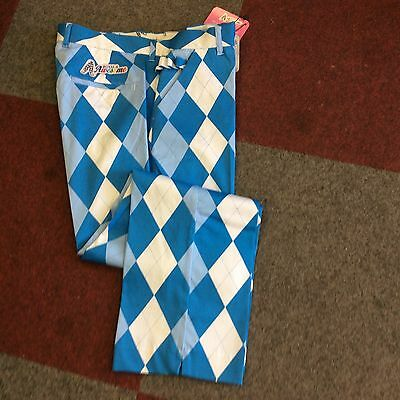 Mens Funky Golf Trousers