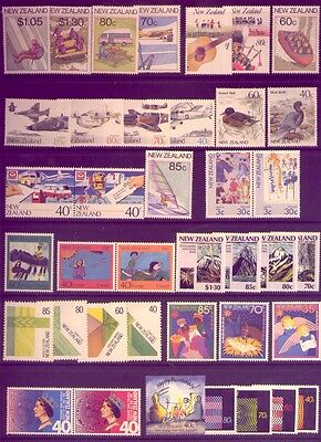 NEW ZEALAND: AN ATTRACTIVE    COLLECTION of  MINT  STAMPS:  LOW RESERVE