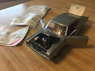 Danbury Mint 1967 Dodge Charger Fastback Limited Edition 3204 of 5000