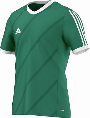 Adidas Football Youth Soccer Tabela 14 Jersey Boys Climalite Green White