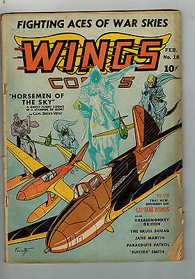 WINGS COMICS No. 18 from 1942