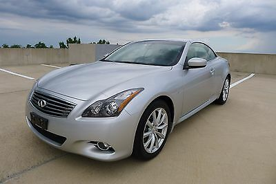 2015 Infiniti Q60 Convertible 2015 Infiniti Q60 Convertible, Fully Loaded, Low Miles, Navigation