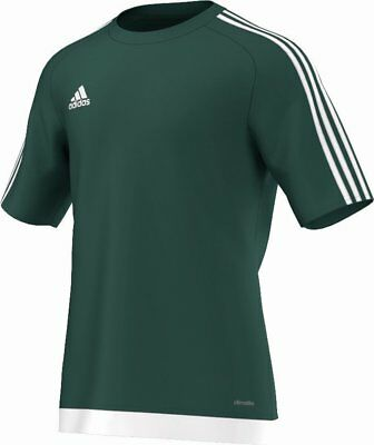 Adidas Football Men Soccer Estro 15 Jersey Climalite Green White