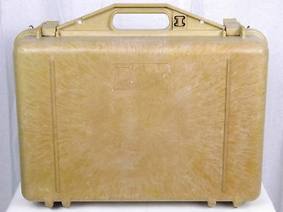 """Vintage Collectible The Pelican Equipment Case - 18 1/2"""" x 15"""""""