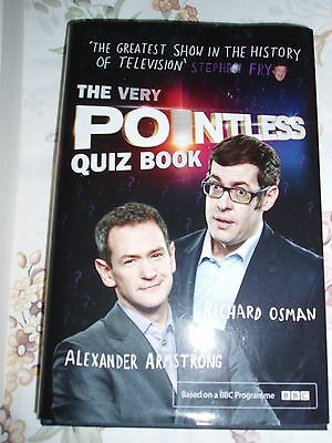 The Very Pointless Quiz Book by Alexander Armstrong, Richard Osman (Hardback,...