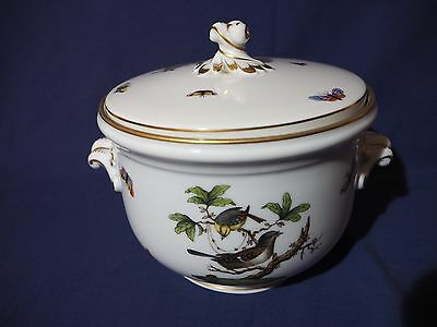 Herend Hungry Rothschild Birds Ice Bucket/Pail