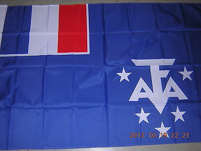 NEW reproduced France Empire Flag French Antarctic Territory FAT Ensign 3X5ft