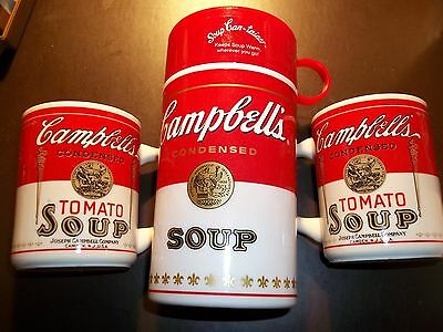 Lot Of 3 Campbells Soup Items