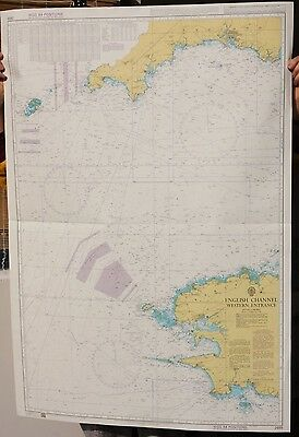 Valid Admiralty Chart 2655 - English Channel Western Entrance