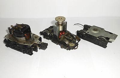 Vintage Lionel O gauge loco electric motor & chassis plus other electric motor