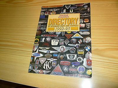 PRACTICAL CLASSICS DIRECTORY of Specialist Parts and Services
