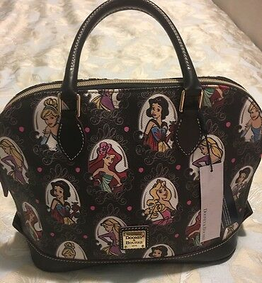 Dooney And Bourke Disney Runway Princess Satchel NWT