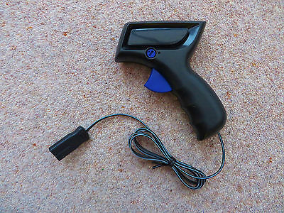 NEW .... Micro Scalextric CONTROLLER - Blue trigger (latest plug)