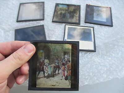 Vintage Glass Slides Religion Christianity Bible Scenes etc 1920's Jesus Mary