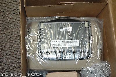 BRAND NEW Authentic Nissan Armada Dual Head Rest DVD Monitors kit Almond