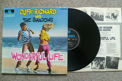Cliff Richard With The Shadows Wonderful Life Lp