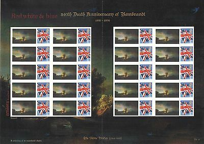 TS-365 2009 The Stone Bridge by Rembrandt Themed Smilers Sheet