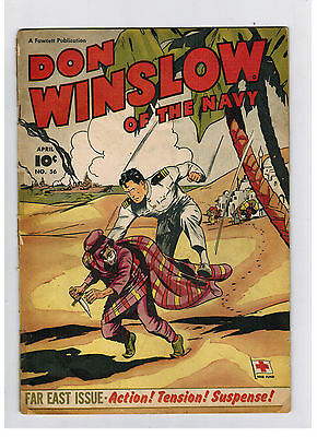 DON WINSLOW OF THE MAVY COMIC No. 56 from 1948