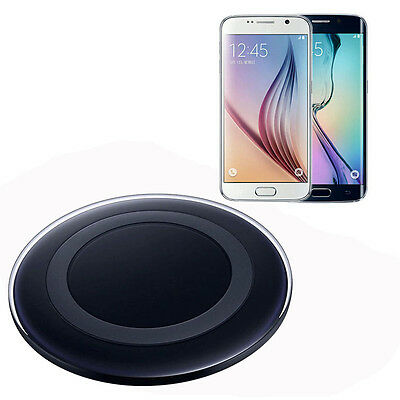 For Samsung Galaxy S6/S6 Edge Charger Qi Wireless Charger Charging Pad Gift