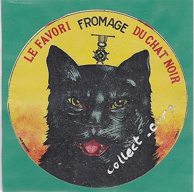 K1  Fromage Camembert Le Favori Du Chat Noir Medaille