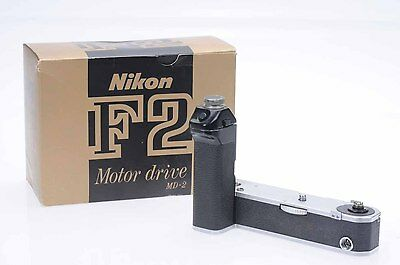 Nikon MD-2 Motor Drive with MB-1 Battery Pack for F2                        #399