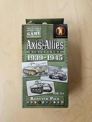 AXIS & ALLIES MINIATURES 1939-1945 BOOSTER PACK,  Avalon Hill, Hasbro, WOTC