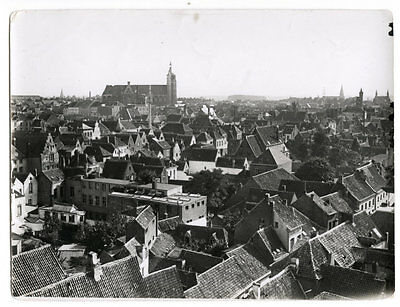 World War One Ww1 Original Photo - Malines A General View