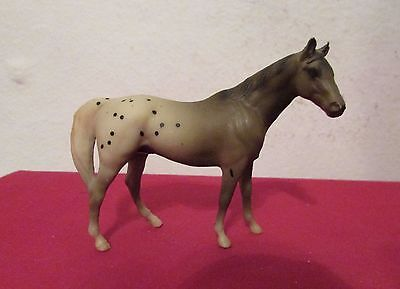 Breyer Appaloosa Stablemate Gray and White with Black Spots