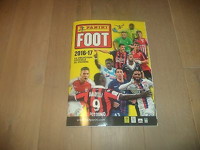album panini foot france 2016 2017 COMPLET !!!!